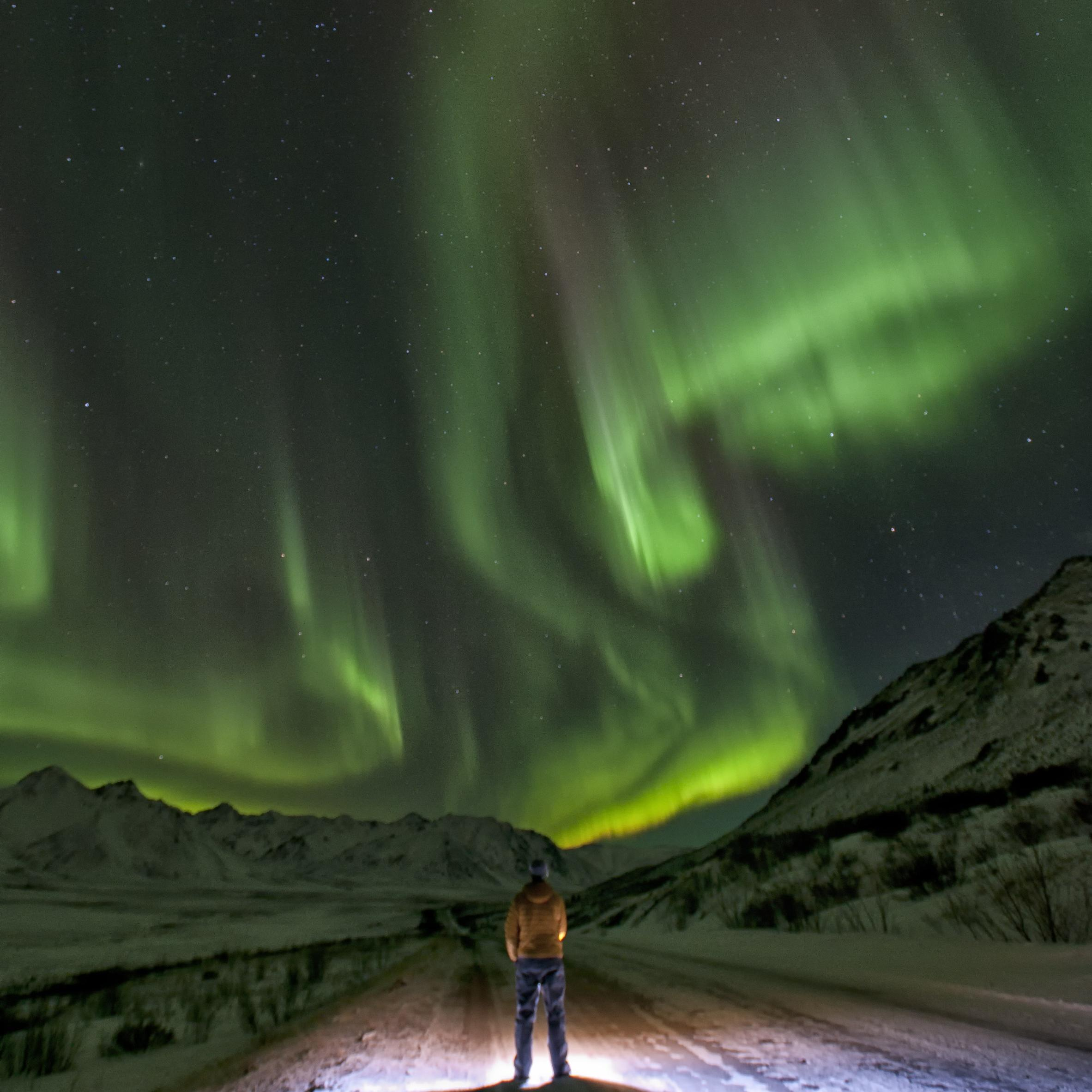 WHAT CAUSES THE AURORA?
