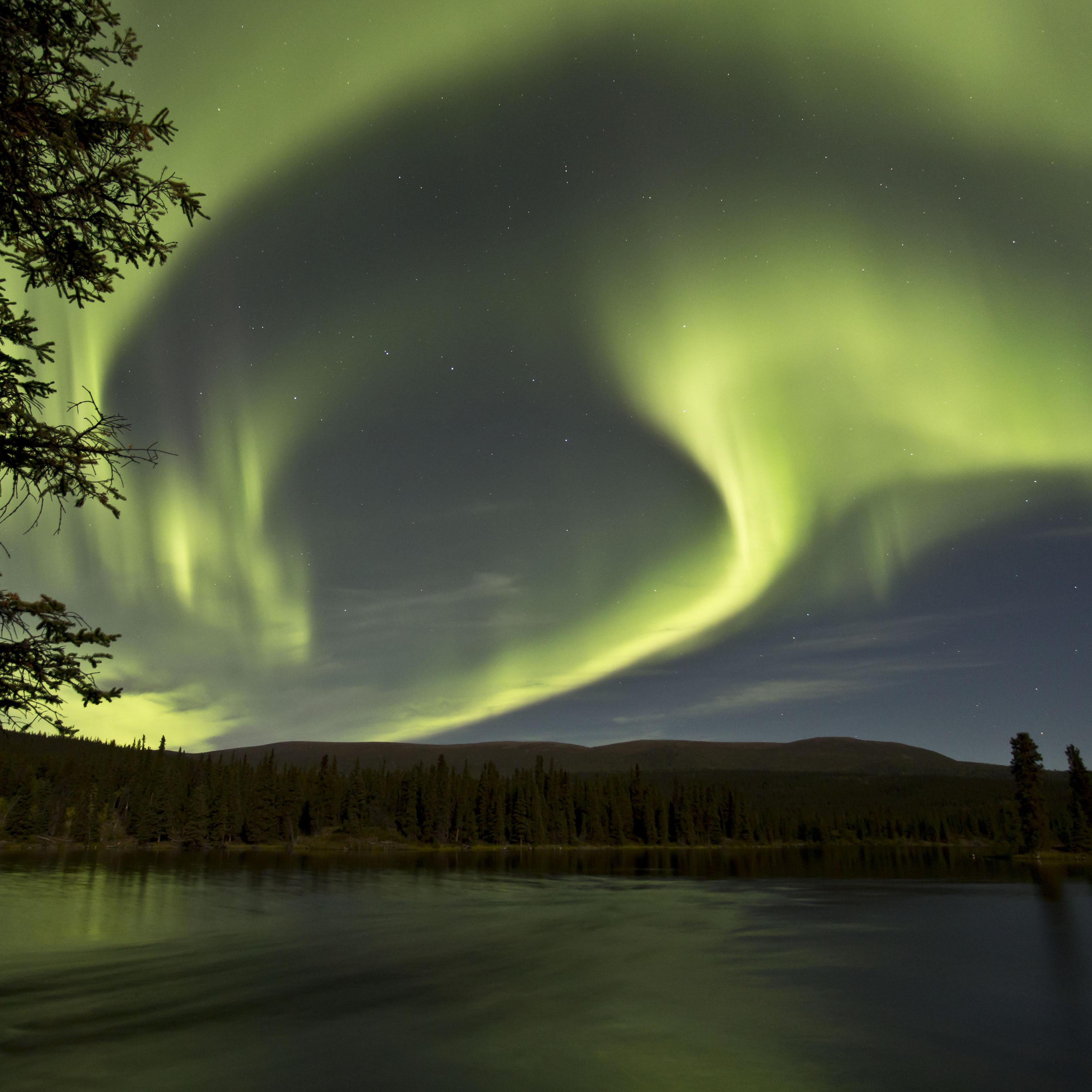 WHEN AND WHERE TO SEE THE AURORA BOREALIS IN THE YUKON